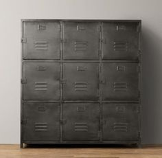 Vintage Locker 9 Door Cabinet | Cabinets | Restoration Hardware Baby U0026 Child