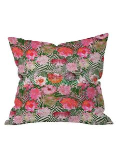 Hadley Hutton Birch Rose Collection 1 Outdoor Throw Pillow by DENY Designs at Gilt
