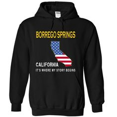 (Tshirt Discount Today) BORREGO SPRINGS Its Where My Story Begins Coupon 15% Hoodies, Funny Tee Shirts