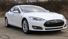 Andrew Gilmore's 2013 Tesla Model S © 2013 Photograph by Skip Peterson