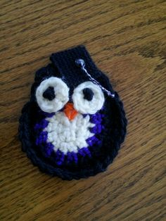 Yea! Crochet owl tutorial with plastic canvas graduation hat