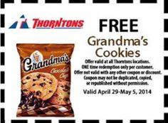 FREE Grandma�s Cookies at Thorntons on http://hunt4freebies.com