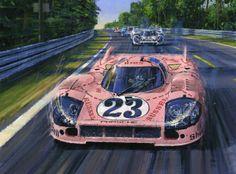 """1971 Porsche 917/20   """"The Pink Pig"""" by Nicholas Watts"""