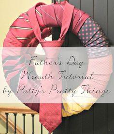DIY Fathers Day Wreath