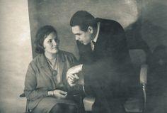 Aleida y el Che, cuando él estaba clandestino en Praga.