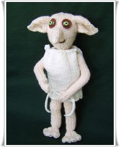 Dobby the house elf     Pattern only IMMEDIATE by Phoenixknits