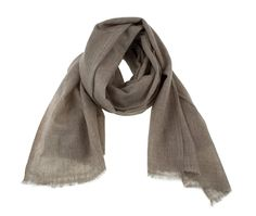 Natural Brown Cashmere Scarf. Pure pashmina scarf.   100% natural. November sale by MyKolachi on Etsy