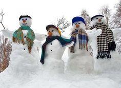 Snowman Boy Band