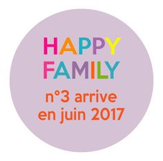 Badge annonce grossesse Happy Family