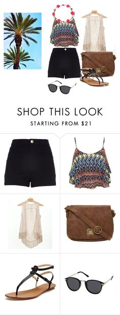 """""""Summer is comming"""" by iria-diaz-carpente ❤ liked on Polyvore featuring River Island, Miss Selfridge, Daytrip, Nica, Maiden Lane and MINKPINK"""