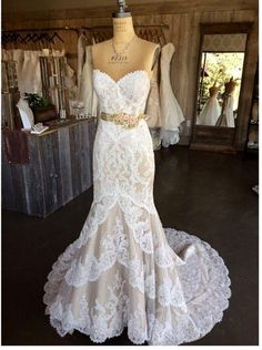 1e4392e86b5ba7 74 Best Mermaid Wedding Gowns images