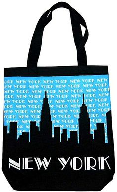 GreatPlacesToYou.com - I Love New York Canvas Tote Bag Large ...
