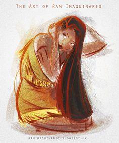 Pocahontas by Ram-Imaquinario.deviantart.com on @DeviantArt