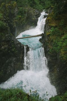 xshaydx: Little Qualicum Falls, BC - Global Affiliation Beautiful Waterfalls, Beautiful Landscapes, Oh The Places You'll Go, Places To Visit, Beautiful World, Beautiful Places, All Nature, Vancouver Island, Adventure Is Out There