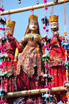 Puppet Dolls, Goa, India