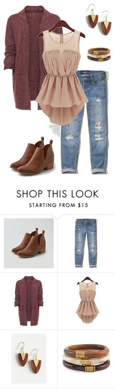 "cool ""Thanksgiving Outfit"" by kayla-nelson-1 on Polyvore featuring American..."