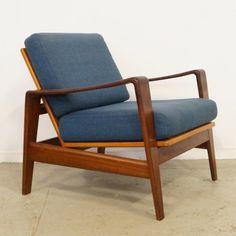 Located using retrostart.com > Model 30 Lounge Chair by Arne Wahl Iversen for Komfort