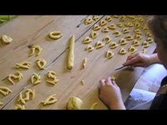 """Tutte le fasi di lavorazione del dolce tipico di Serrenti: """"su pistoccheddu"""""""