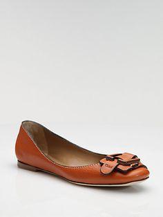 Chloé - Buckle Ballet Flats - Saks.com
