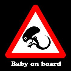 Baby on board Art Print, yes!!!!