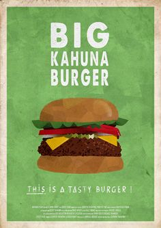 kahuna burger pulp fiction