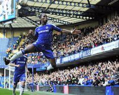 Didier Drogba of Chelsea FC. Chelsea Fc, Football Chelsea, Sport Football, Football Stuff, Real Madrid, Psg, Pier Paolo Pasolini, Soccer Skills, Stamford Bridge
