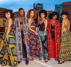 I want to host an African fashion party or festival