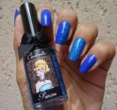 Esmaltemaníaca: Unha da Semana: Cinderella + Royal Blue Cinderella + Royal Blue http://www.esmaltemaniaca.com.br/2014/11/unha-da-semana-cinderella-royal-blue.html  FP http://www.facebook.com/pages/Esmalte-Maníaca/223271664358917    Instagram @bru_esmaltemaniaca http://instagram.com/bru_esmaltemaniaca