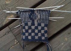 Fair Isle Knitting, Mosaic Patterns, Slip Stitch, Mitten Gloves, Knitting Stitches, Twine, Diy And Crafts, Creative, How To Make