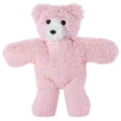Vermont Teddy Bear - Travel Buddy Bear, 14 inches, Pink, ...