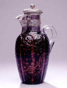 Cut glass, Gorham, 1888
