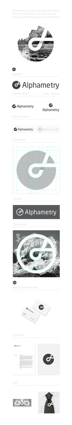 Alphametry Identity on Behance