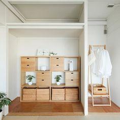 MUJI×UR団地リノベーションプロジェクト、名古屋の千代が丘団地、plan19のモデルルーム。 #無印良品 #無印良品の家 #団地 #mujiur #賃貸 #リノベーション #暮らし #シンプルライフ #ミニマリスト #押入れ #シンプル #収納 #シェルフ #インテリア #muji #mujihouse #room #home #homedecor #renovation #interior #interiordesign #design #simple #minimal #minimalist #storage #furniture #japan