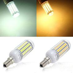 Vela de baja energía ahorro Bombilla CFL Luz Blanca 7w = 35w Rosca Edison es E14