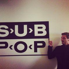 Sub Pop Records HQ in Seattle, WA