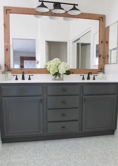 THIS is how to refinish yours for professional results How To Refinish Bathroom Cabinets & DIY & Domestic Blonde Source by. The post How To Refinish Bathroom Cabinets Bathroom Renos, Bathroom Flooring, Bathroom Renovations, Bathroom Furniture, Home Remodeling, Bathroom Ideas, Easy Bathroom Updates, Remodel Bathroom, How To Update A Bathroom