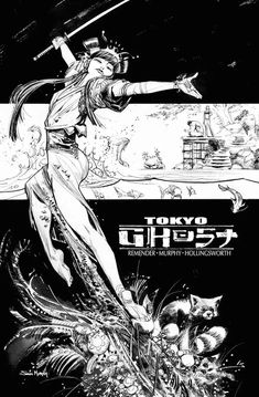 Tokyo Ghost cover by Sean Murphy *