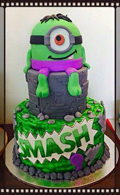 Minion Superhero Cake Superman Minion Cake Batman and Superman