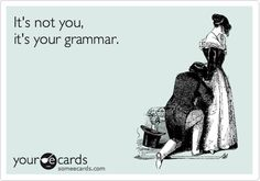 If you HATE working on your grammar considering it's boring and tedious- with all the rules to remember, then THINK NO MORE! Find here the Best Resources to teach and learn Grammar online. Bad Grammar, Grammar Humor, Biology Humor, Chemistry Jokes, Science Jokes, Grammar Quotes, Grammar Check, Funny Quotes, Funny Memes