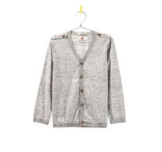 Image 1 of CARDIGAN WITH EPAULETTES ON THE SHOULDERS from Zara