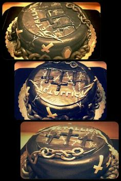 Metallica cake