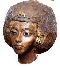 Reina Teye, esposa de Amenofis II y madre de Akhenaton.