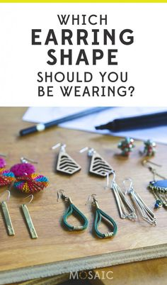 An easy guide to help you choose the right pair of earrings for your face shape! Fair Trade fashion - Ethical Style