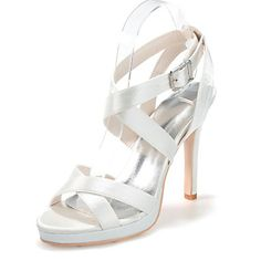 Women's+Shoes+Silk+Stiletto+Heel+Open+Toe+Sandals+Wedding/Party+&+Evening+More+Colors+available+–+USD+$+44.99
