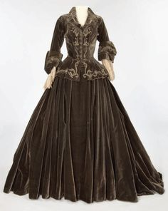 "Costume designed by Adrian for Norma Shearer in ""Marie Antoinette"" (1938)."