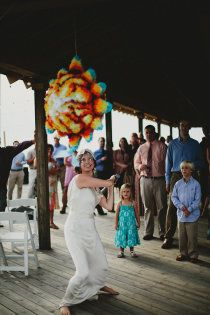 Beautiful wedding pinata