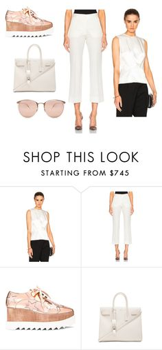 """Sin título #7740"" by ceciliaamuedo ❤ liked on Polyvore featuring Thierry Mugler, STELLA McCARTNEY, Yves Saint Laurent and Linda Farrow"