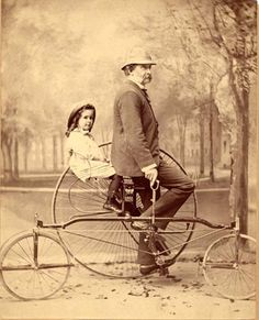 Thomas Wentworth Higginson and daughter, ca. 1884