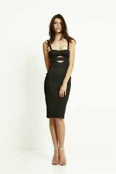 TYRA CUT OUT BODY DRESS BEC & BRIDGE