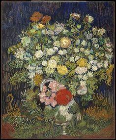 Bouquet of Flowers in a Vase - Vincent van Gogh
